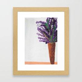Lavendar Framed Art Print