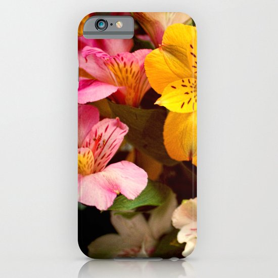Lily of the Incas Bouquet iPhone & iPod Case