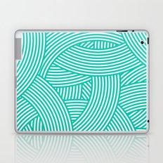 New Weave in Aqua Teal Laptop & iPad Skin