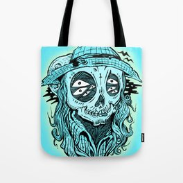scared crow Tote Bag