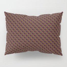 Diamond 3D Multicolour on Red Pillow Sham