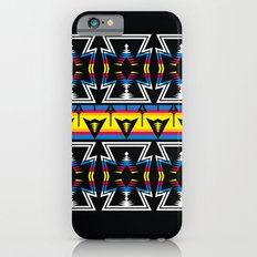 Large Native America inspired blanket print iPhone 6s Slim Case