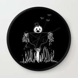 ▴ scarecrow ▴ Wall Clock