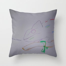 Here Comes the CHISME! Throw Pillow