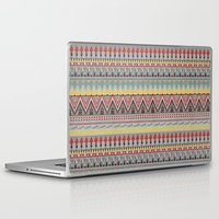 whisky Laptop & iPad Skins featuring WHISKY AZTEC  by Kiley Victoria