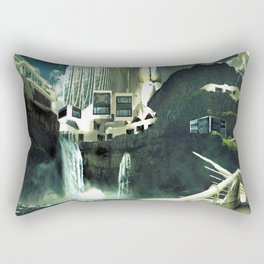 Arcadia, The Last Great City Rectangular Pillow