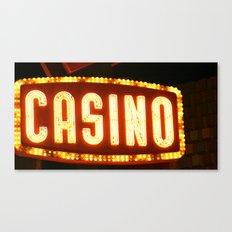 Casino One Canvas Print