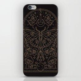 Moon Moth iPhone Skin