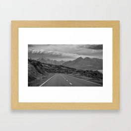 Mount Cook Road 1 Framed Art Print