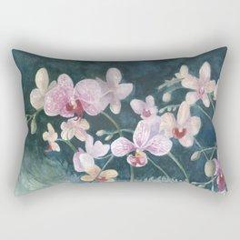Orchid Melody Rectangular Pillow