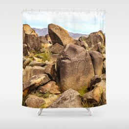 Lithic Shower Curtain