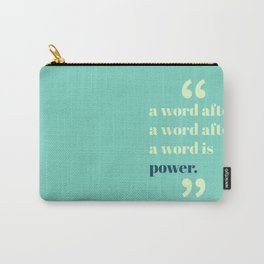 A Word Is Power Carry-All Pouch