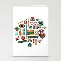 movies Stationery Cards featuring Summer Movies by RevengeLover