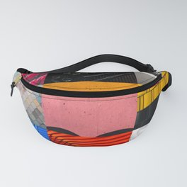 Photography Collage Fanny Pack