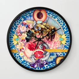 Pollen Part II :: The Symbiosis Project // 13/100 Wall Clock