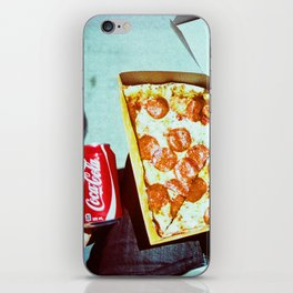 Pizza and a Coke iPhone Skin
