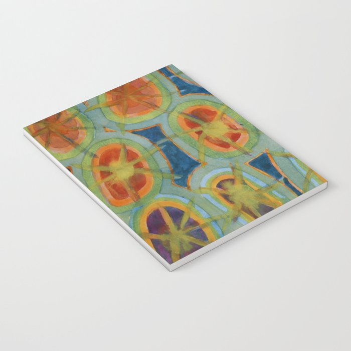 Radiant Circles Notebook