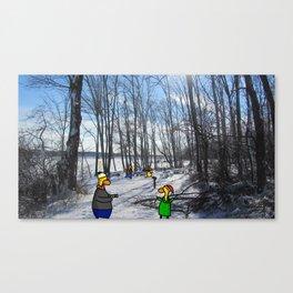 Peaceful Winter Canvas Print