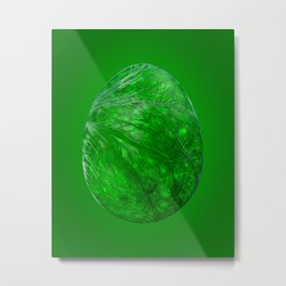 Scrambled Egg Metal Print