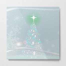 Cold Christmas Metal Print