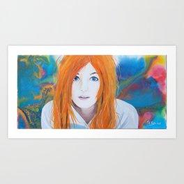 just look at me Art Print
