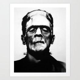 B. Karloff Art Print