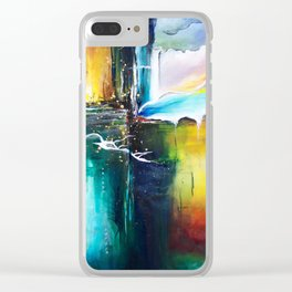 The Crossing - by Jenny Bagwill Clear iPhone Case