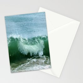 Crash of green Stationery Cards