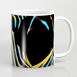 1149s-AK Striped Woman Color Abstract Powerful Nude by Chris Maher Coffee Mug