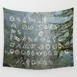 WFS Mandate 00234: Return to the Land of Saturated Bundles™ Wall Tapestry