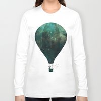 voyage Long Sleeve T-shirts featuring Voyage by M. Vander