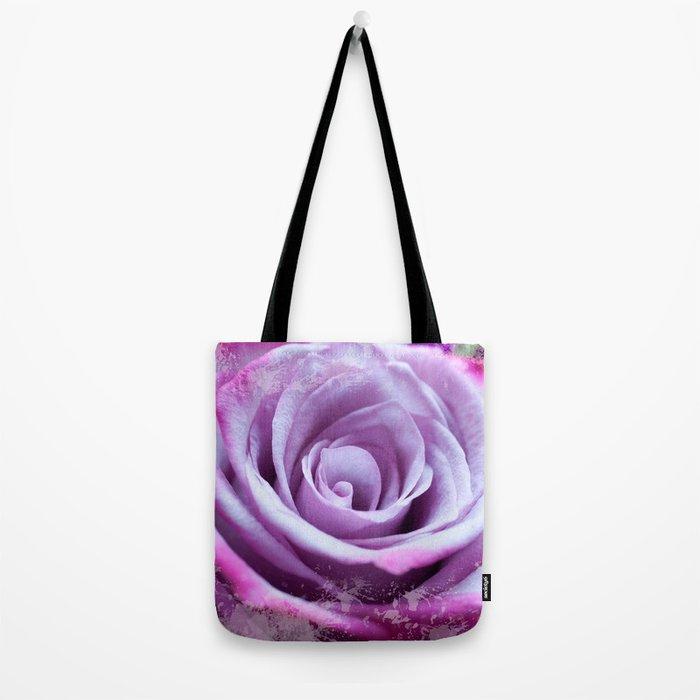 Rose of Love #Pink #Purple #art #society6 Tote Bag