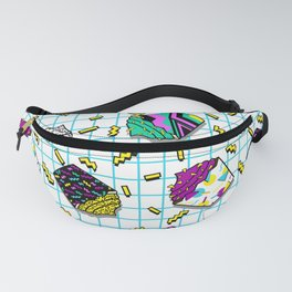 I love the eaties (80s cupcakes) Fanny Pack