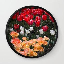 The garden of spring Wall Clock