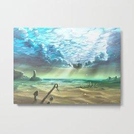 below sky level Metal Print