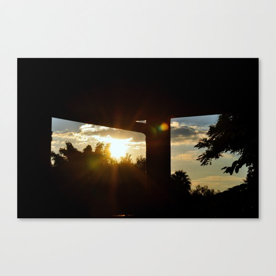 Lighting I Canvas Print