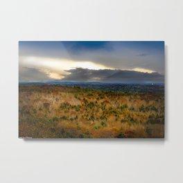 Overlook From Bradbury Mountain Metal Print