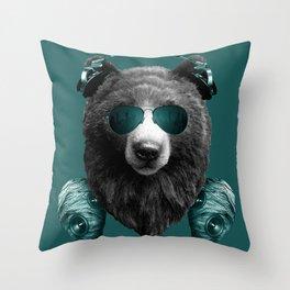 DjHoney Throw Pillow