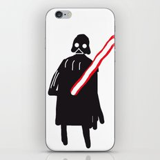 you are drawing vader iPhone & iPod Skin