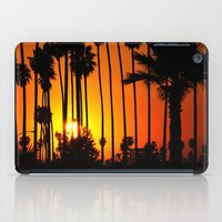 striped iPad Cases featuring Striped Sunset by Flattering Images