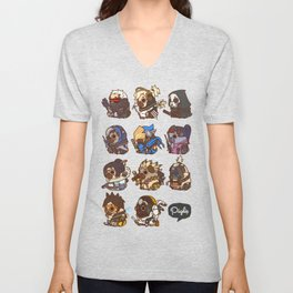 Pugliewatch Collection 1 Unisex V-Neck