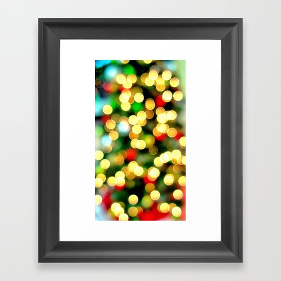 Oh Christmas Tree Framed Art Print