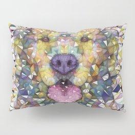 rainbow dog Pillow Sham