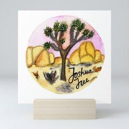 Joshua Tree National Park Watercolor Mini Art Print