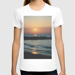 Sunset Ocean Bliss #1 #nature #art #society6 T-shirt