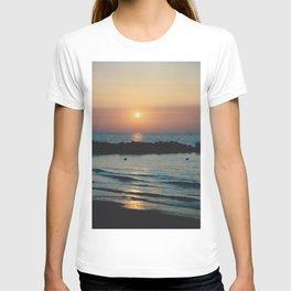 Sunset Ocean Bliss #1 #nature #art #society6 T-shirt