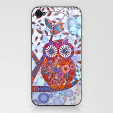 If Klimt Painted An Owl :) Owls are darling birds! iPhone & iPod Skin