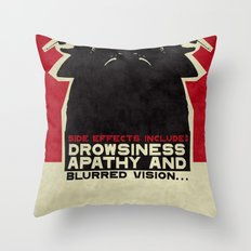 Side effects Throw Pillow
