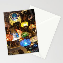 More Moroccan Lamps Stationery Cards