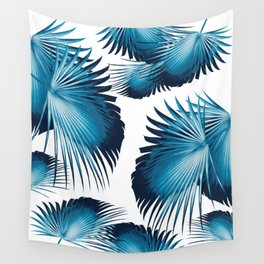 Fan Palm Leaves Paradise #11 #tropical #decor #art #society6 Wall Tapestry